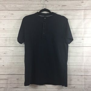 Boss Hugo Boss Black Short Sleeve Shirt Size L